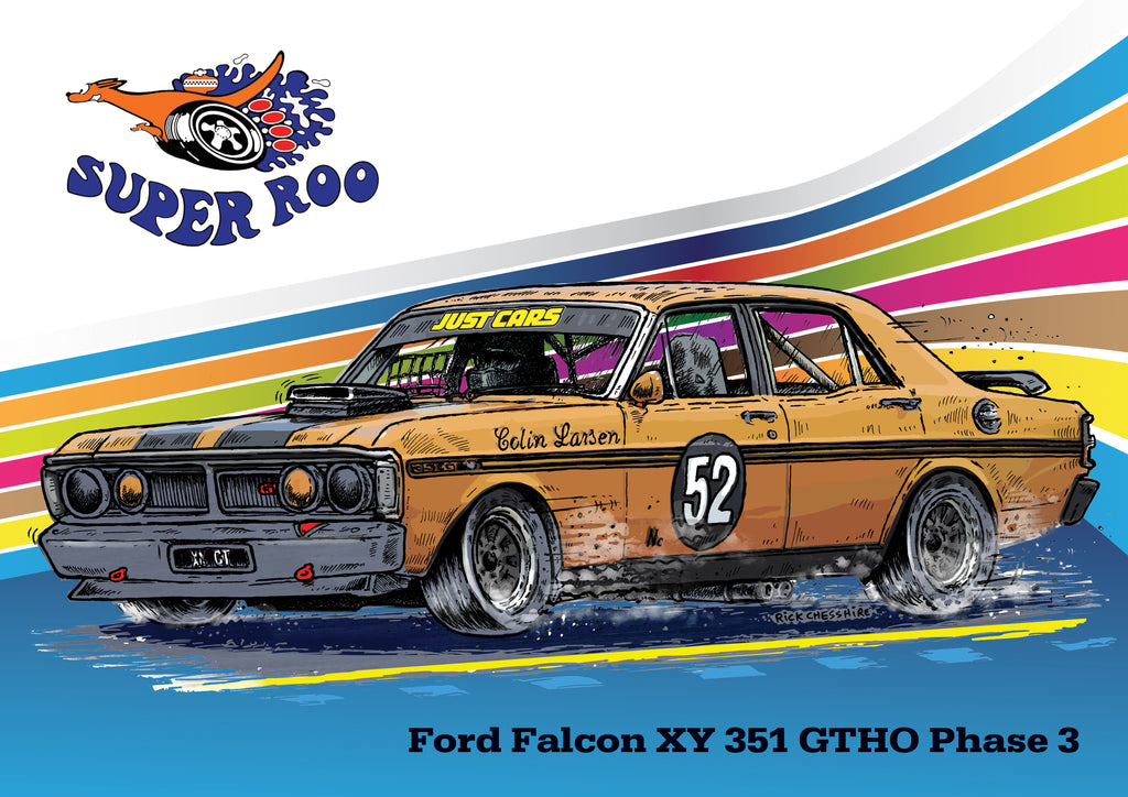 Historic Touring Ford Falcon XY 351 GTHO Phase 3