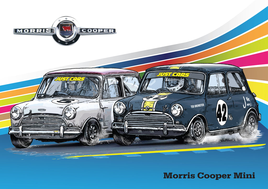 Historic Touring Morris Cooper Mini