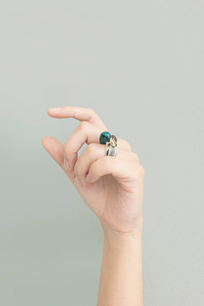 BALLERINE BIRDS mallard duck ring