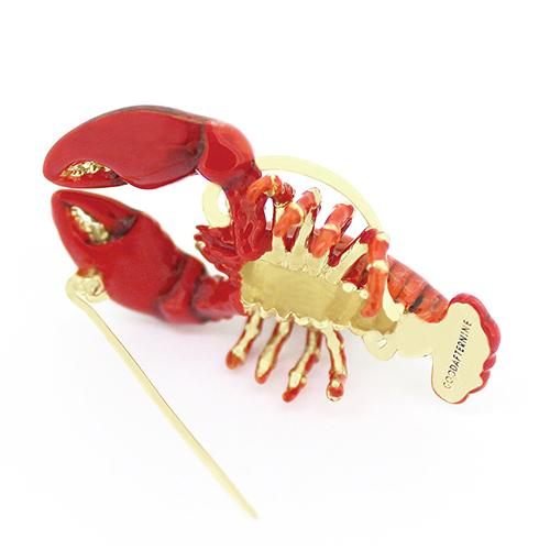 Red Lobster Brooch | Ocean Instruments