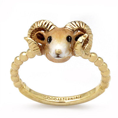 Sheep Ring | CHINESE ZODIAC