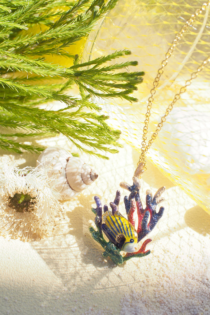 AngelFish and Reef Necklace | Ocean Instruments