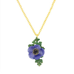 Anemone Necklace Purple | BLOOM