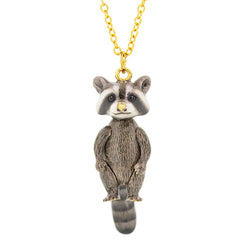 Rocky Raccoon Necklace || SHAGGY SQUAD