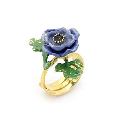 Anemone Ring Violet | BLOOM