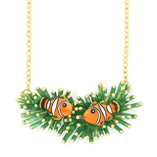 Clownfish and Sea Anemone Necklace | Ocean Instruments