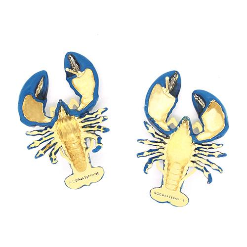 Blue Lobster Earrings | Ocean Instruments