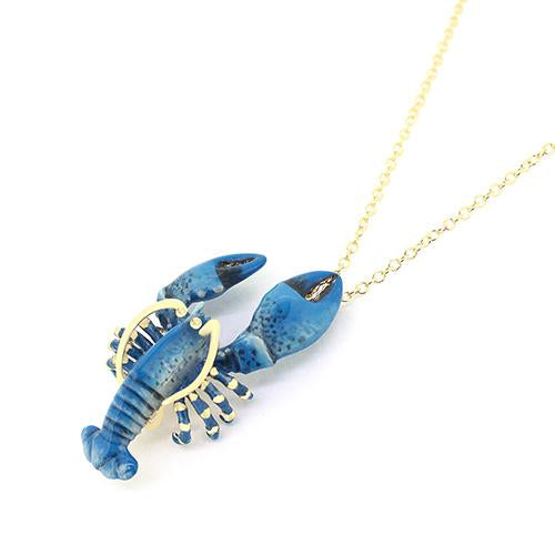 Blue Lobster Necklace | Ocean Instruments