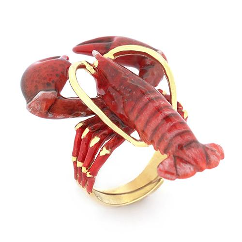 Red Lobster Ring | Ocean Instruments