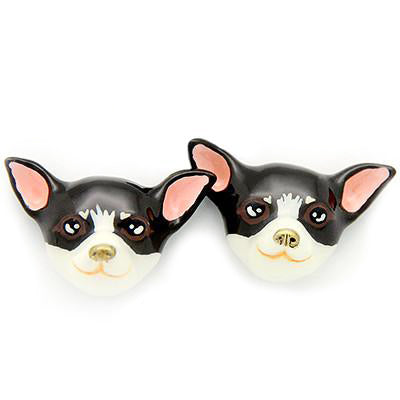Choco Chihuahua Earrings | DOGS