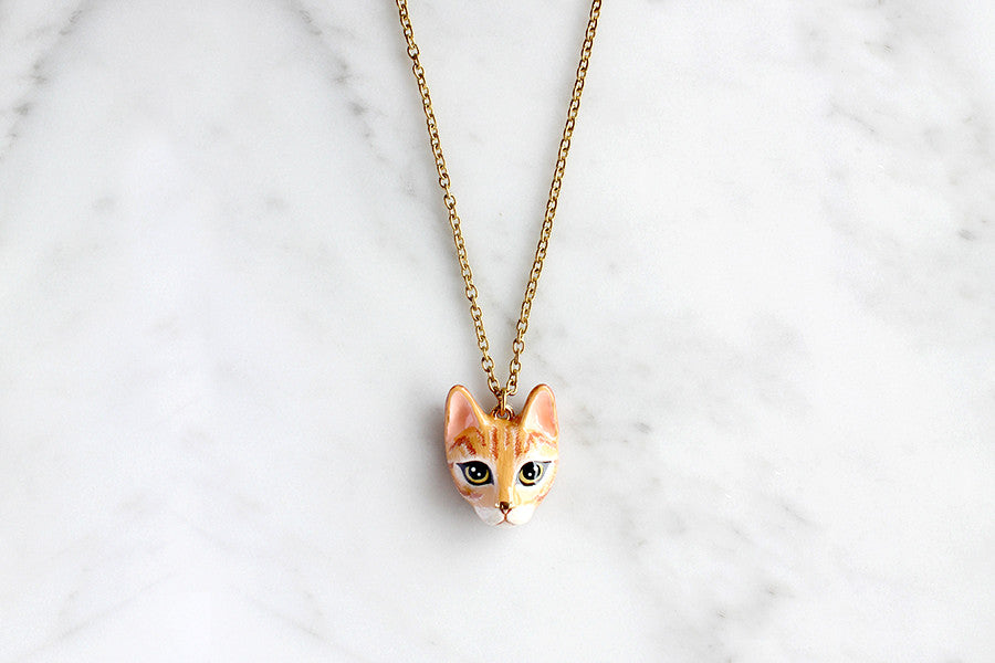 Chompoo Cat Necklace | CATS