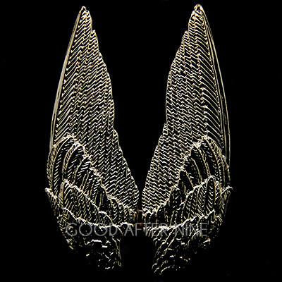 Demon Wings Ring Gold | ANGELS & DEMONS