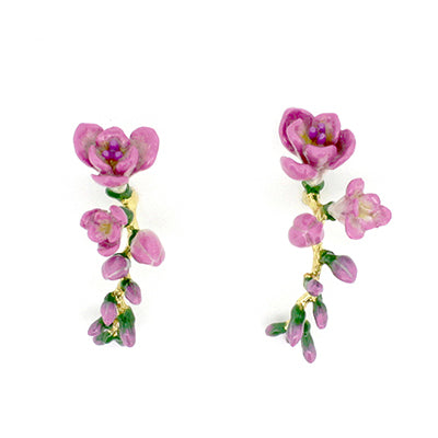 Freesia Hoop Earrings | BLOOM