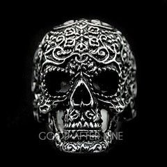 Filigree Skull Silver Ring | FILIGREE SKULL