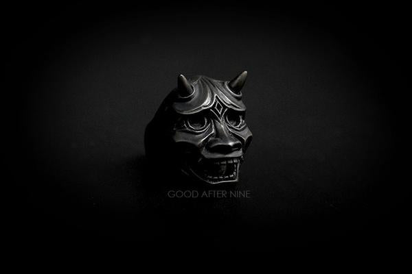 Hannya Devils Ring Black | ANCIENT STORY