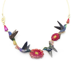 Humming Melody Statement Necklace | HUMMING MELODY