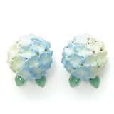 Hydrangea Blue Earrings | BLOOM