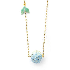 Hydrangea Blue Necklace | BLOOM