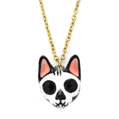 Mori Skull Cat Necklace | CATS