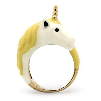 Mini Unicorn Ring Yellow