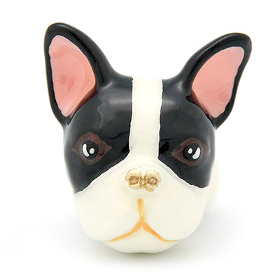 French Bulldog Ring Black and White | DOGS