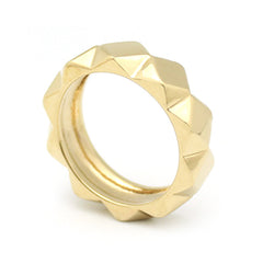 Ballad of Pyramid Slim Gold Ring | BALLAD OF PYRAMID