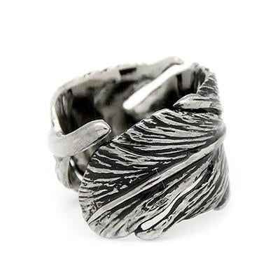 Feather Ring Black | FEATHER