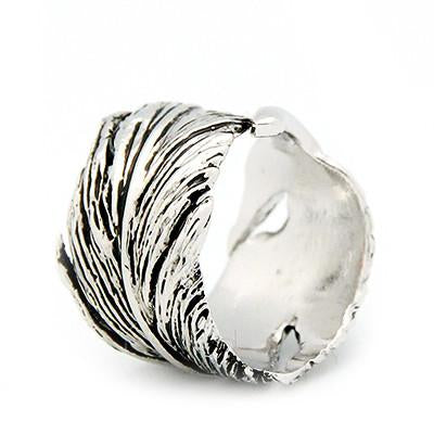 Feather Ring Silver | FEATHER