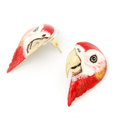 Scarlet Macaw Earrings | SKY DANCER
