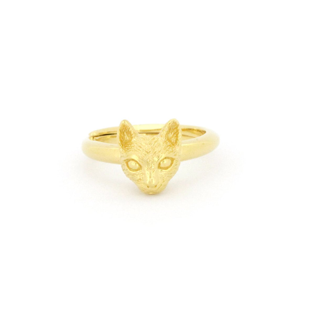 Murmur Cat Ring 925 Sterling Silver