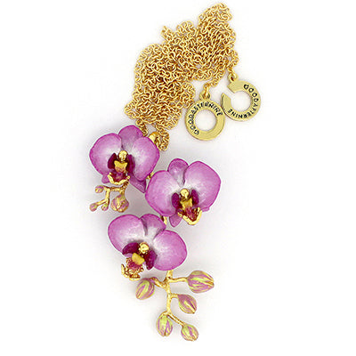 Phalaen Purple Necklace | BLOOM