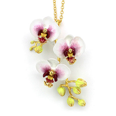 Phalaen White Necklace | BLOOM