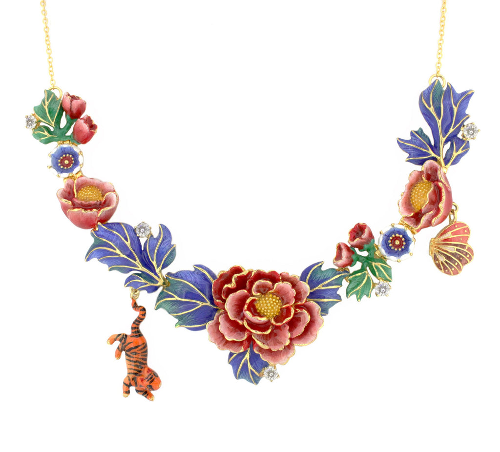 Orient Romance Statement Necklace