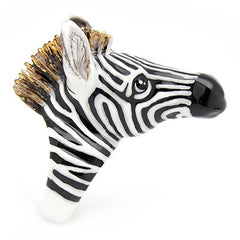 Frank Zebra Ring | SAFARICA