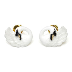 Swan Earrings | BALLERINE BIRD