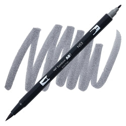 Tombow Dual Brush Grey N55