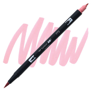Tombow Dual Brush Pen Blush 772