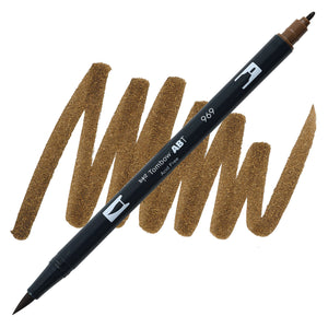 Tombow Dual Brush Pen Chocolate 969