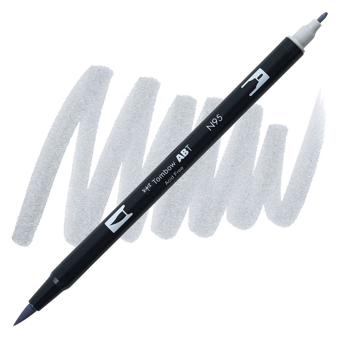 Tombow Dual Brush Pen Cool grey 1 N95