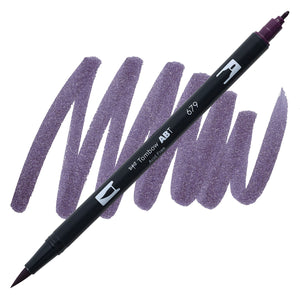 Tombow Dual Brush Dark Plum 679