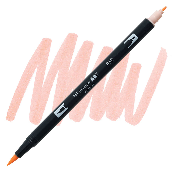Tombow Dual Brush Pen Flesh 850