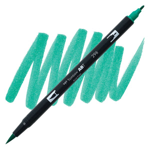 Tombow Dual Brush Pen Green 296