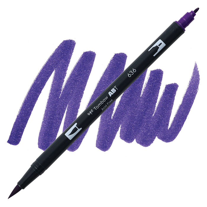 Tombow Dual Brush Imperial Purple 636