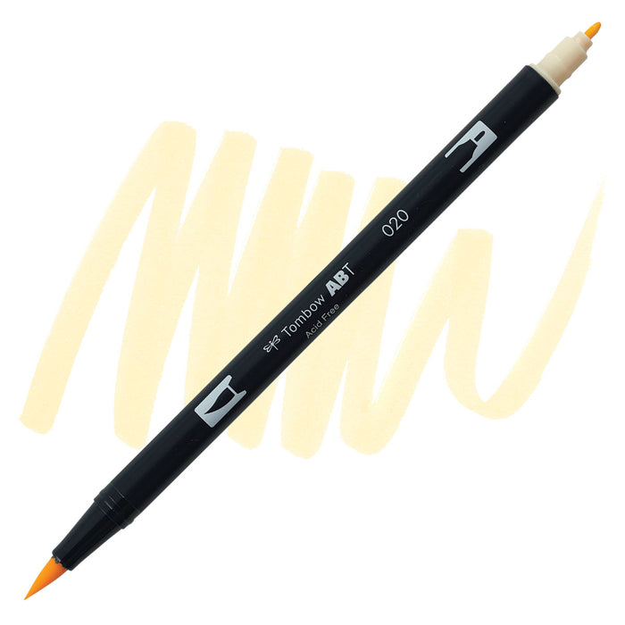 Tombow Dual Brush Pen Peach 020