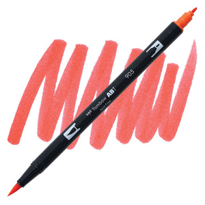 Tombow Dual Brush Pen Red 905