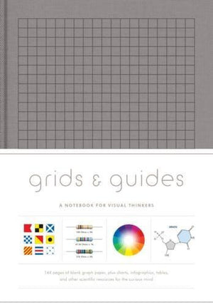 Grids & Guides, Notebook for visual thinkers Grey