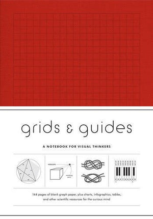Grids & Guides, Notebook for visual thinkers Red