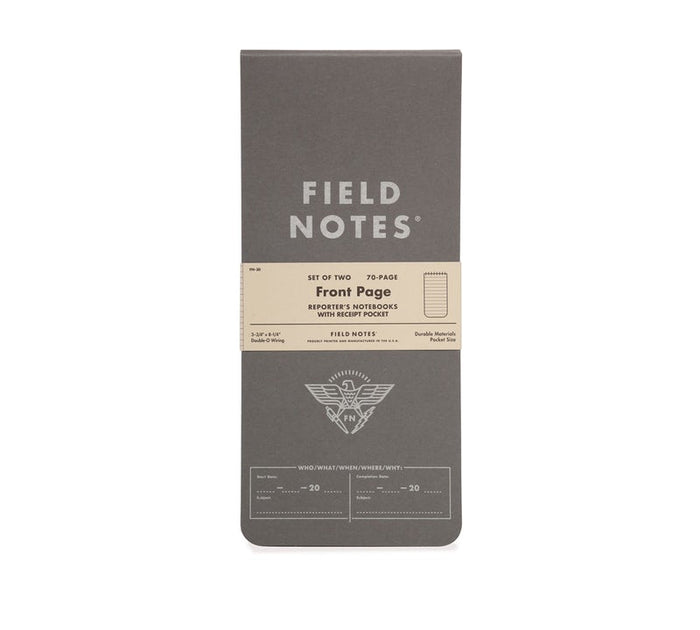 Field Notes Front Page 2-Pack