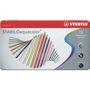 Stabilo Aquacolor Lapices Acuareleables