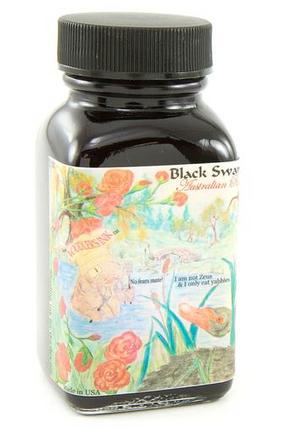 Noodler's Black Swan in Australian Roses 90ml